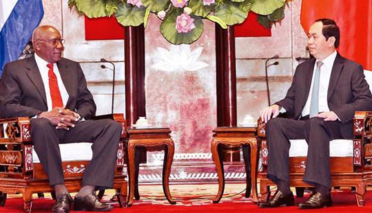 Lãnh đạo Đảng, Nhà nước tiếp Đặc phái viên của Bí thư thứ nhất Đảng Cộng sản Cu-ba