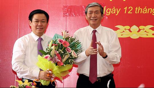 Ông Vương Đình Huệ nhận quyết định làm Trưởng Ban chỉ đạo Tây Nam Bộ
