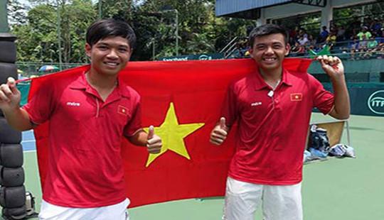 Lý Hoàng Nam để thua ngược đối thủ tại bán kết Davis Cup