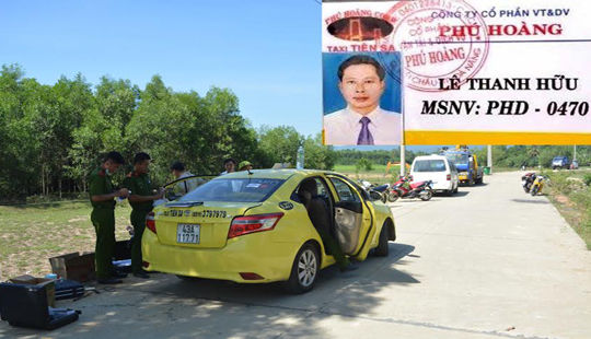 Vụ án mạng ở Đà Nẵng: Trước khi bị sát hại, tài xế taxi đón 3 vị khách bí ẩn
