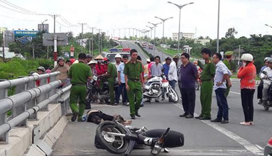 Người đàn ông tử vong trên đường đi đám cưới