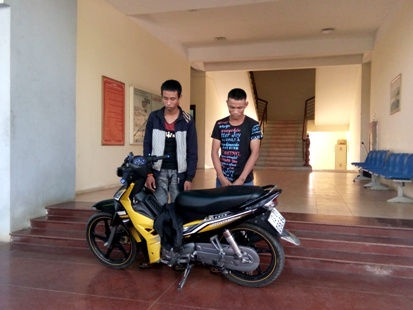 Bắt gọn hai đối tượng trộm xe máy liên tỉnh