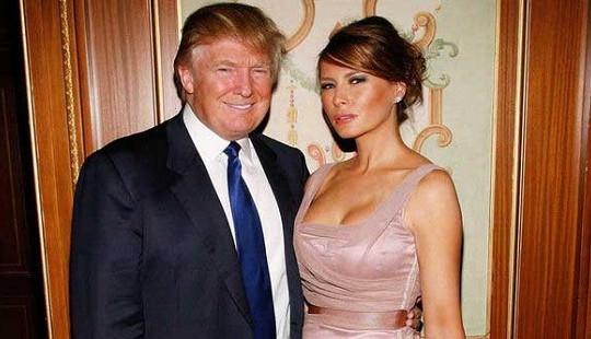 """Ông Trump """"vô cùng điềm tĩnh"""" khi ảnh khỏa thân của vợ đăng trên báo"""