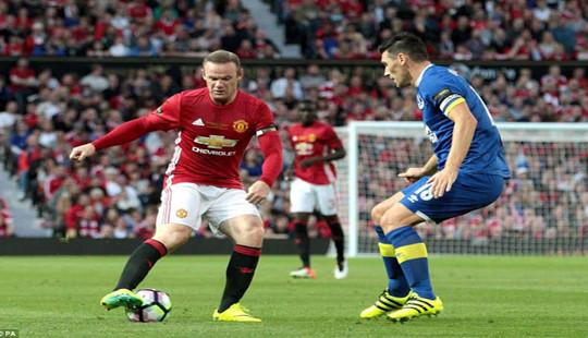 M.U - Everton (0-0): Tâm điểm Wayne Rooney