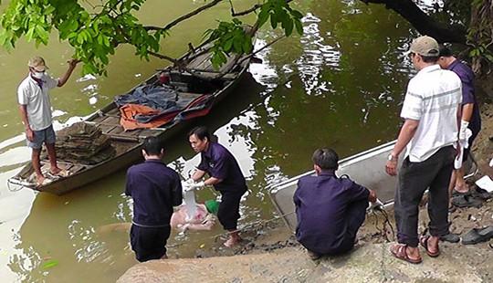 Phát hiện thi thể người đàn ông có nhiều vết bầm trên sông Đồng Nai