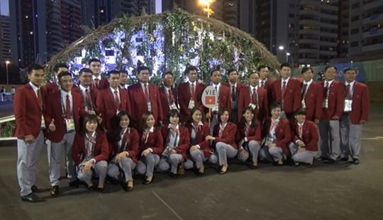 VĐV Đoàn Thể thao Việt Nam háo hức tại Olympic Rio 2016