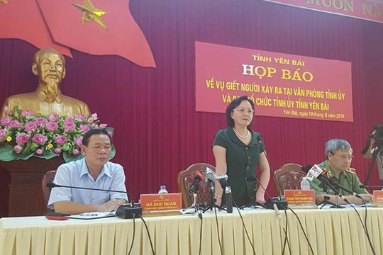 Vụ bắn chết Bí thư, Chủ tịch HĐND tỉnh Yên Bái: Nghi phạm đã tử vong