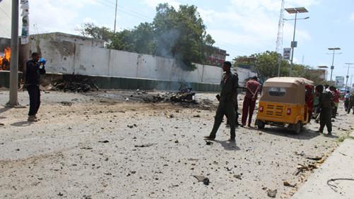 Đánh bom liều chết tại Somalia, ít nhất 15 người thiệt mạng