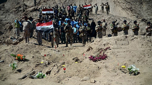 Iraq hành quyết 36 người tham gia vụ IS thảm sát các binh lính