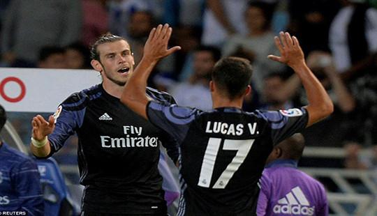 Bale tỏa sáng, Real thắng đậm Sociedad
