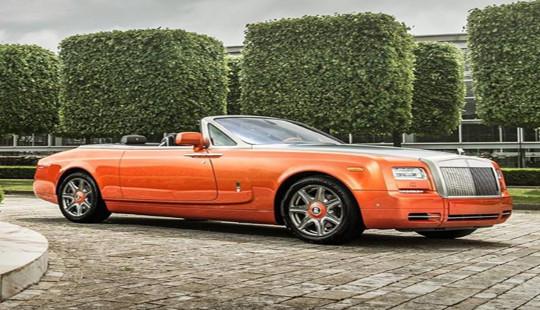 Rolls-Royce tiếp tục ra mắt phiên bản đặc biệt với sắc màu cam