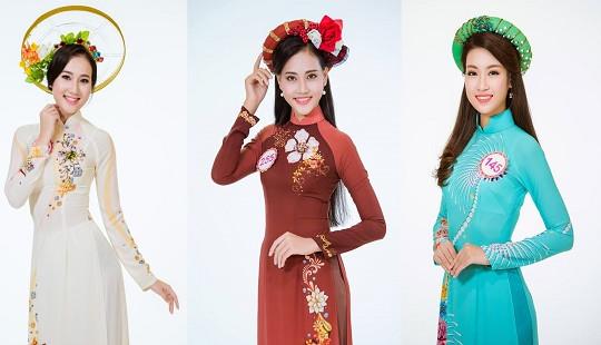 Thí sinh Hoa hậu Việt Nam 2016 diện áo dài khoe dáng ngọc trước Chung kết