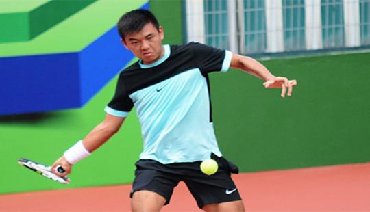Lý Hoàng Nam giành vé vào chung kết Giải Vô địch Quần vợt quốc gia