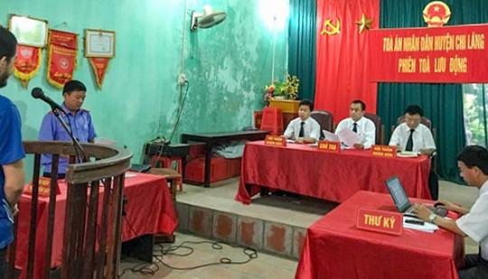 TAND huyện Chi Lăng (Lạng Sơn): Tăng cường đổi mới tác phong, lề lối làm việc