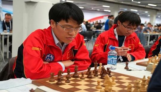 Cờ vua Việt Nam cùng thắng tại Olympiad 2016