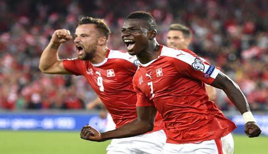 Vắng Ronaldo, Bồ Đào Nha để thua Thụy Sỹ