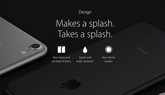 Apple sẽ không chấp nhận bảo hành iPhone 7 bị thấm nước