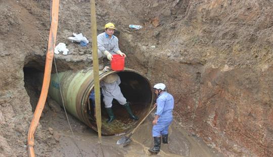 Vỡ đường ống sông Đà lần thứ 19