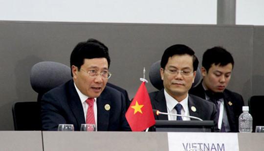 Thảo luận tại Hội nghị NAM: Phó Thủ tướng Phạm Bình Minh nêu vấn đề Biển Đông