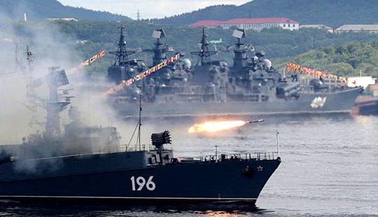 Tàu chiến Nga bắt đầu tuần tra Đại Tây Dương và Địa Trung Hải