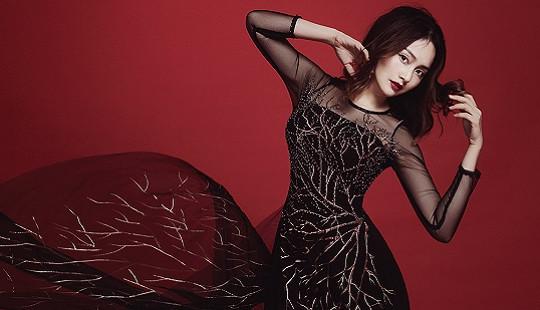 Lan Phương đẹp 'ám ảnh' trong bộ ảnh áo dài Halloween