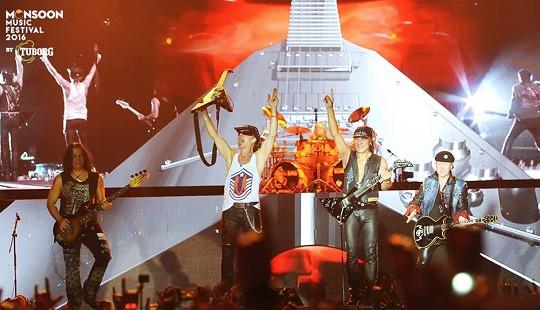 Huyền thoại Scorpions biến Monsoon thành thánh địa Rock