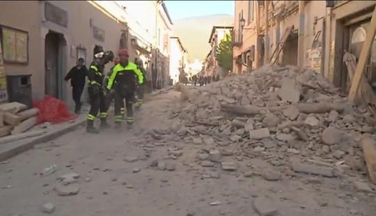 Italy: Lại xảy ra động đất 6,6 độ Richter