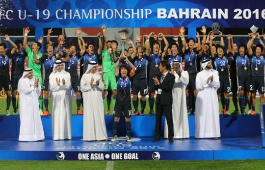 VCK U19 châu Á: Nhật Bản lần đầu lên ngôi vô địch