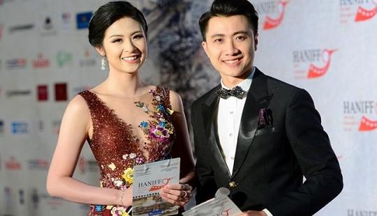 Sao Việt hội tụ trên thảm đỏ Liên hoan phim Quốc tế Hà Nội
