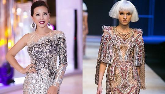 Hoa hậu Thu Hoài bất ngờ mua toàn bộ thiết kế của NTK Công Trí ngay sau show diễn