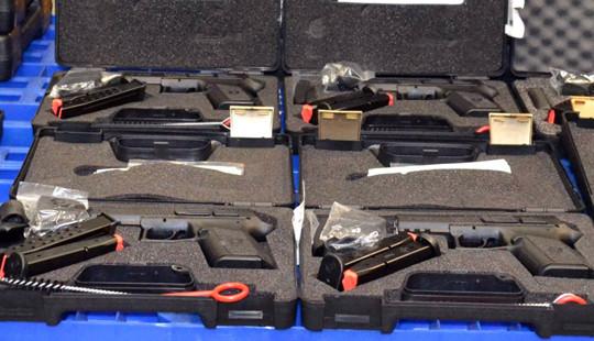 TP.HCM: Tịch thu số lượng lớn súng quân dụng