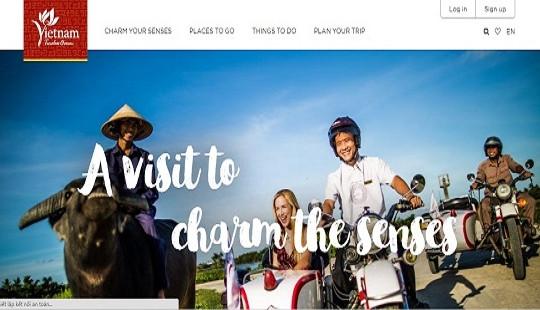 Công bố website quảng bá du lịch Việt Nam dành riêng cho khách quốc tế