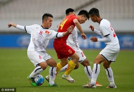 U22 Việt Nam suýt gây bất ngờ trước Trung Quốc