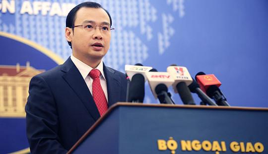 Người Phát ngôn Bộ Ngoại giao Việt Nam nói về việc Hoa Kỳ có tân Tổng thống