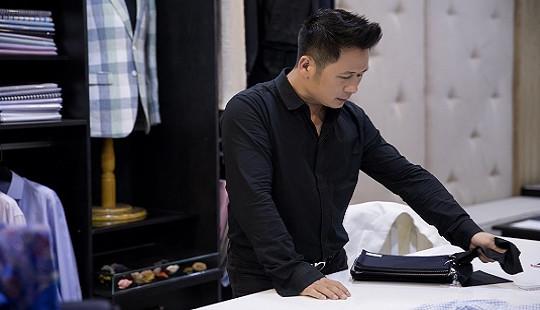 Bằng Kiều đi may vest cho đêm nhạc tại Sài Gòn bằng xế hộp tiền tỷ