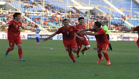 Việt Nam tăng 7 bậc trên bảng xếp hạng FIFA