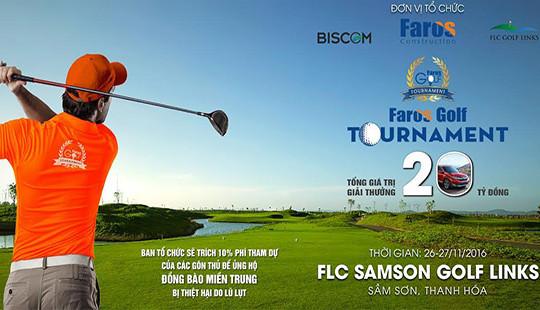 Voucher siêu hấp dẫn dành cho các gôn thủ tại Faros Golf Tournament