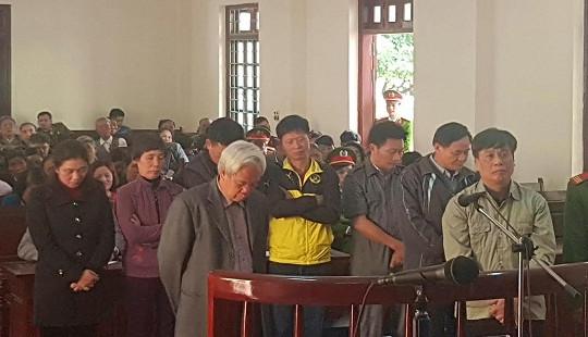 Tuyên án 8 cựu quan chức TP Vĩnh Yên trong vụ án trang trại Đồng Tâm