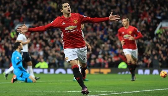 Mkhitaryan khai hỏa, Man Utd đá bại Totteham trên sân nhà