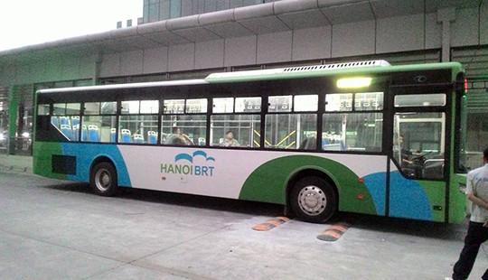 Xe buýt nhanh BRT Kim Mã-Yên Nghĩa tiếp tục lỗi hẹn?