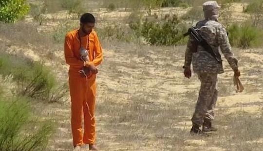 Kinh hoàng cách hành quyết mới của IS