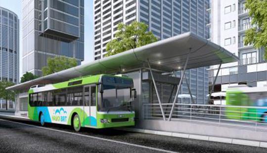 Hệ thống xe buýt nhanh BRT có gì mới?