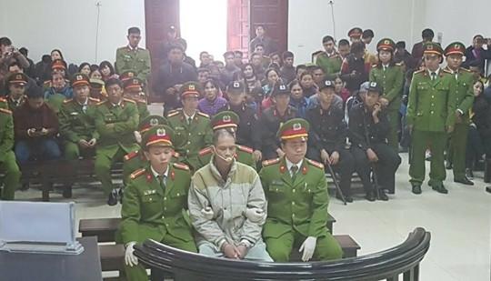 Tòa tuyên tử hình với tội danh giết người của Doãn Trung Dũng
