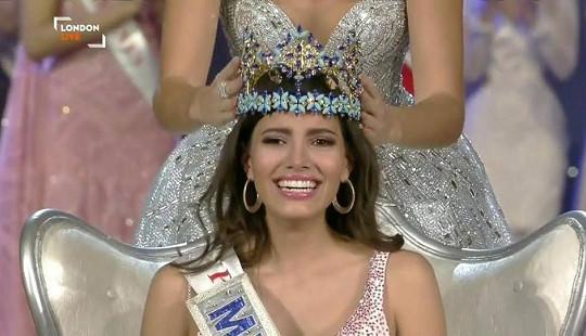 Stephanie Del Valle đăng quang Hoa hậu Thế giới 2016