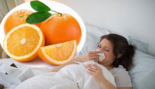 Vitamin C giúp giảm 45% nguy cơ cảm lạnh