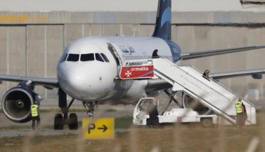 Vụ cướp máy bay Libya: Không tặc đầu hàng