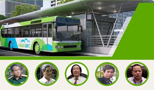 Infographic: Chuyên gia nói gì về buýt nhanh BRT Hà Nội