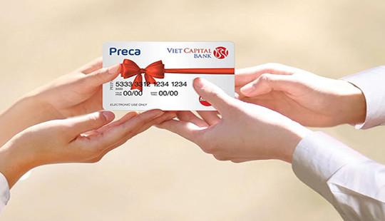 Ngân hàng Bản Việt ra mắt Thẻ quà tặng Preca