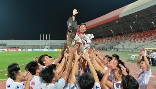 Năm mới 2017: U19 Việt Nam được FIFA ca ngợi