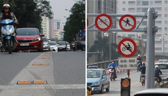 """Sẽ xử lý """"mạnh tay"""" với những phương tiện lấn làn buýt nhanh BRT"""
